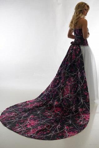 Wedding Dresses Purple Camo Wedding Dresses