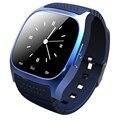 Водонепроницаемый Smartwatch M26 Bluetooth Smart Watch With LED Alitmeter Плеера Шагомер Для Android Смартфон T30 Лучший Подарок