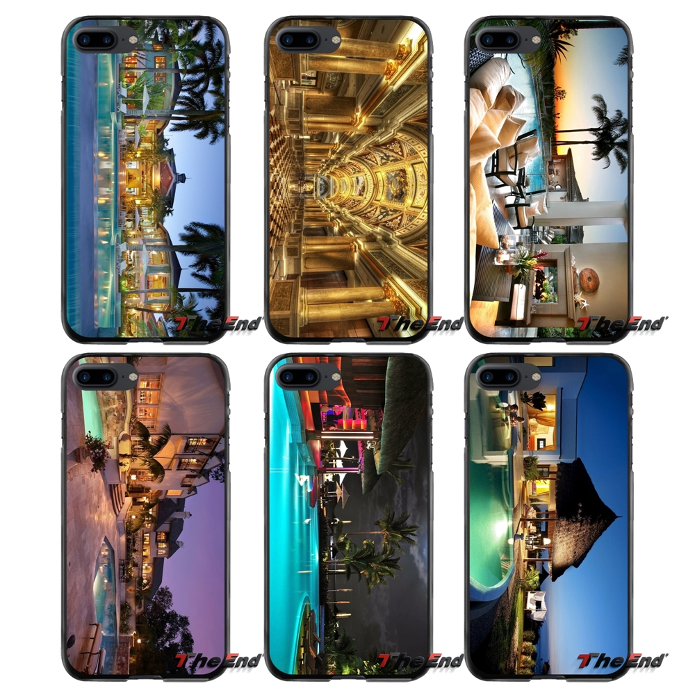 For Apple iPhone 4 4S 5 5S 5C SE 6 6S 7 8 Plus X iPod Touch 4 5 6 Accessories Phone Cases Covers Luxury City HD