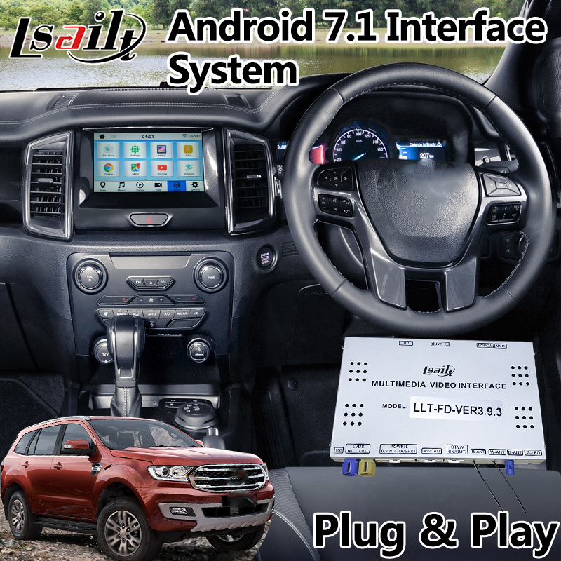 android 7 1 navigation interface for ford everest. Black Bedroom Furniture Sets. Home Design Ideas