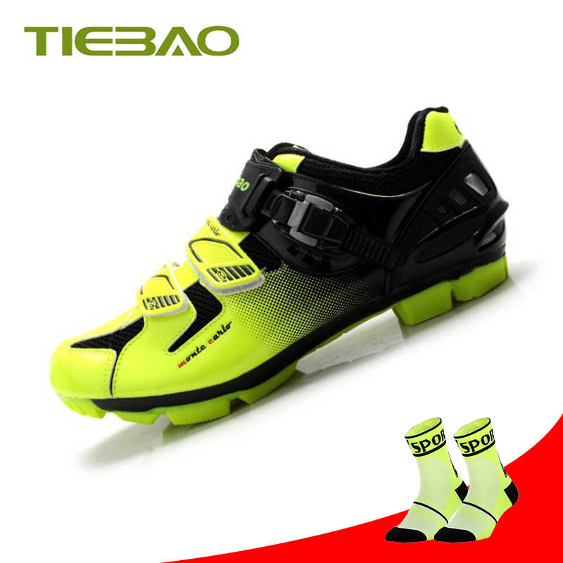 Tiebao sapatilha ciclismo mtb Cycling Shoes men superstar Bicycle shoes zapatillas deportivas hombre women Riding Bike sneakers