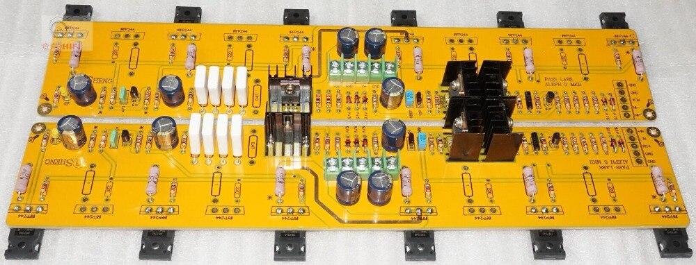 60W PASS A5 Single-ended Class A Power Amplifier bulk kit Board 2 Channel