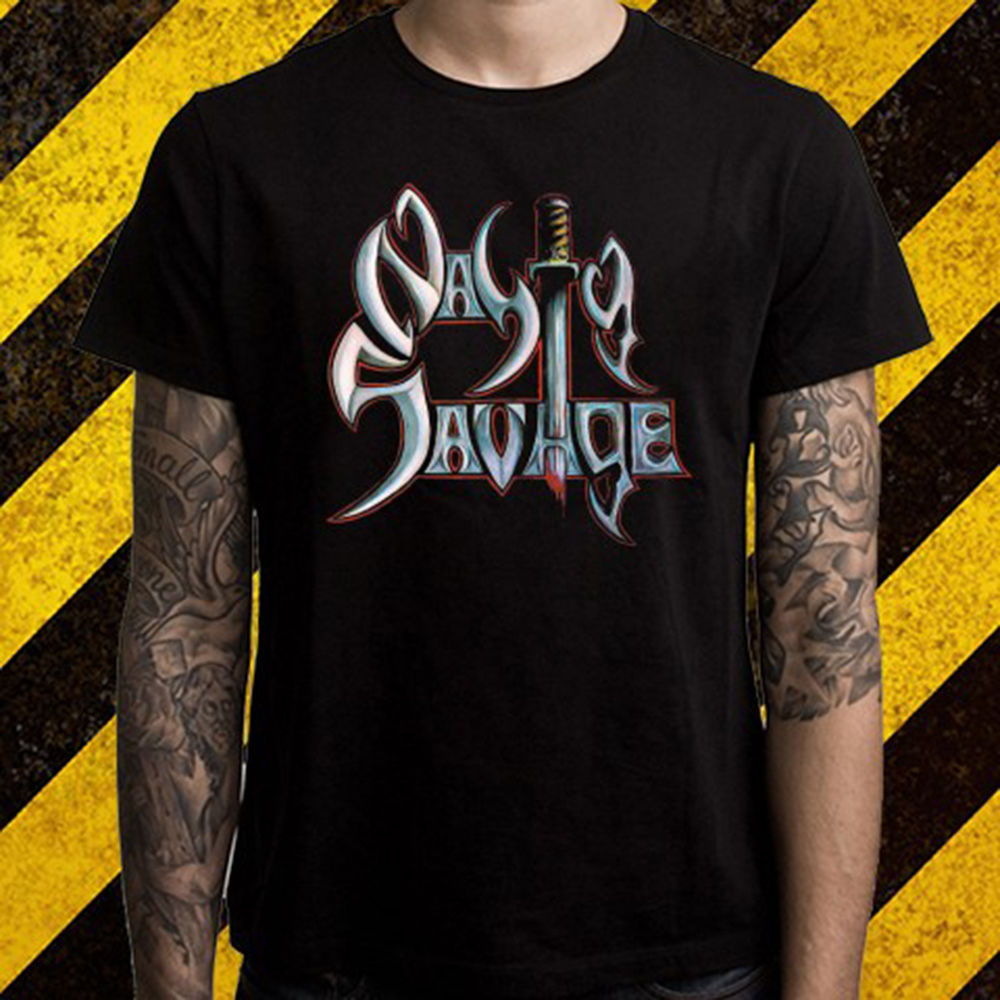 New nasty savage death metal band logo mens black t shirt size s to new nasty savage death metal band logo mens black t shirt size s to 2xl men adult t shirt short sleeve cotton light in t shirts from mens clothing biocorpaavc Choice Image