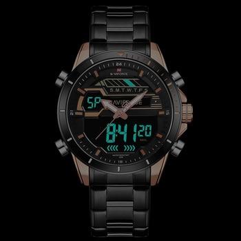 Mens Watches NAVIFORCE Luxury Top Brand Men Waterproof Sport Watch Men's Quartz Digital Clock Man Wrist Watch Relogio Masculino