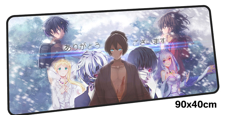 re zero mouse pad gamer 900x400mm notbook mouse mat gel large gaming mousepad Boy Gift pad mouse PC desk padmouse accessories