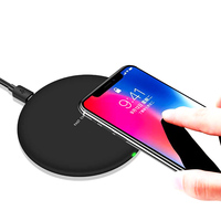 10W 9V Wireless Charger Pad For Iphone 8 X Samsung Note8 S7 S6 S8 Google Nuxus