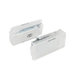 Image 2 - ANGRONG 2x белые светодиодный лампы для багажника, ящика для перчаток, светильник щение салона для Peugeot 206 207 306 307 3008 406 407 5008 607 806