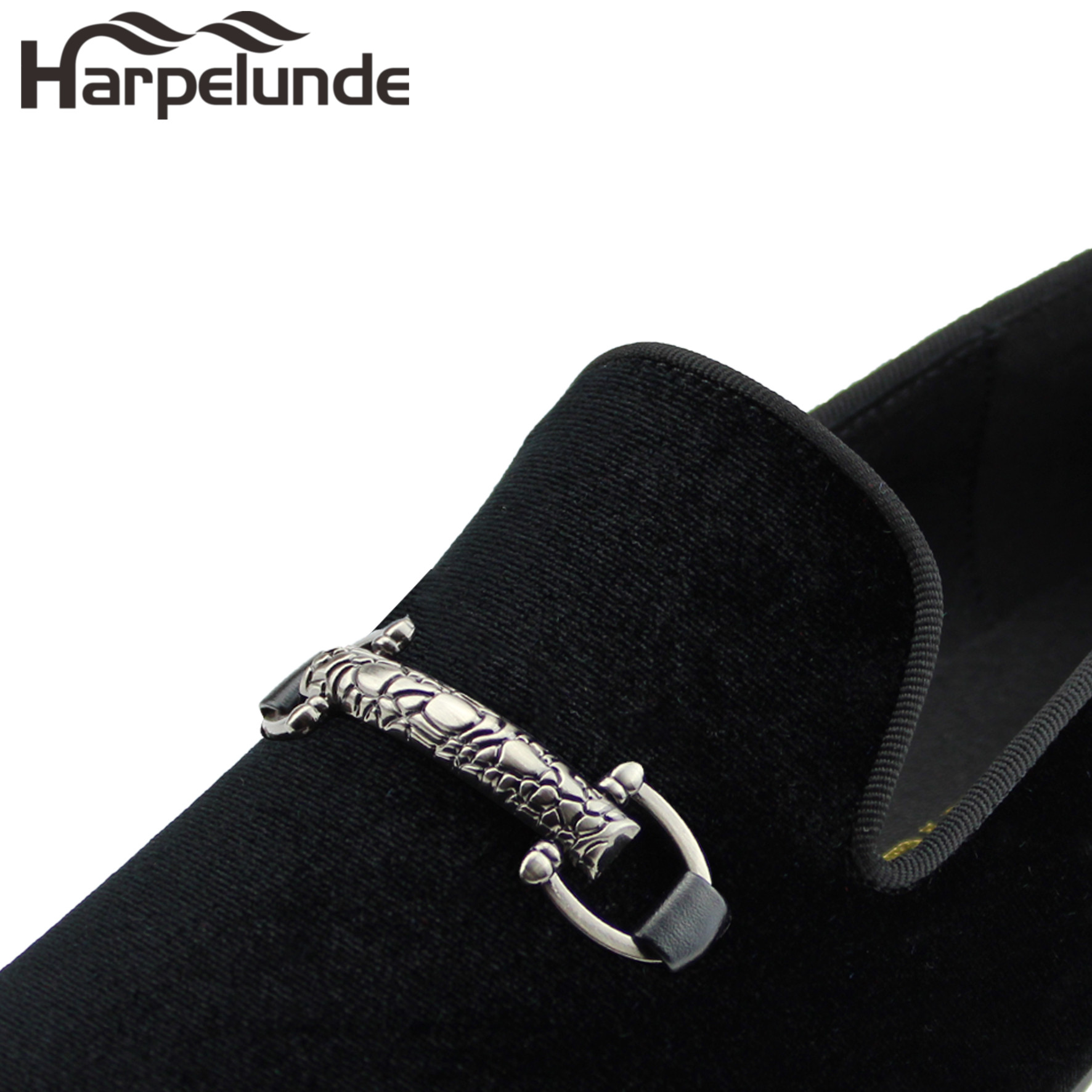 azul Negro Baile Negro Hombres Terciopelo verde Zapatos Harpelunde rojo Hebilla q6WCZgWw