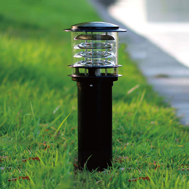 Garden lawn lamp outdoor strawhat road lights courtyard lighting street residential corridor fence yard lights in LED Lawn Lamps from Lights Lighting