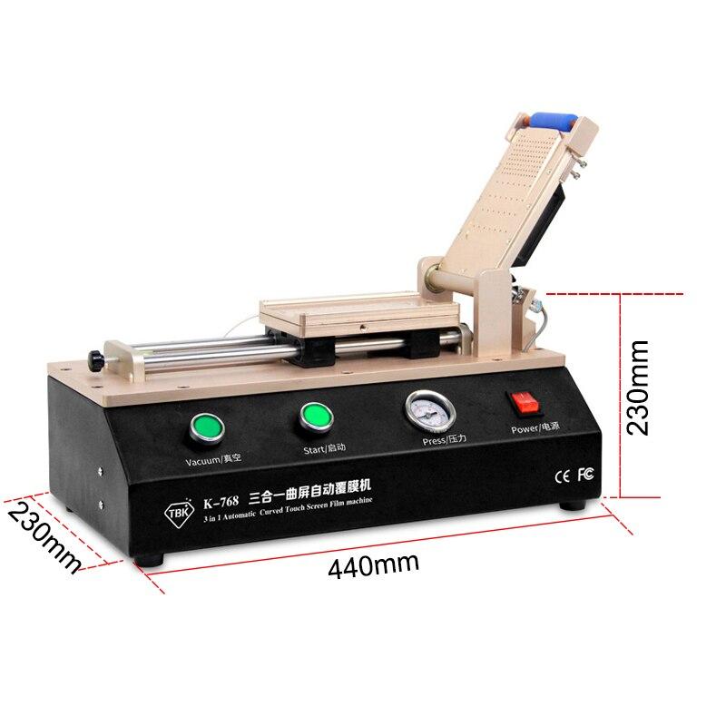 La más nueva máquina de laminado de película OCA de pantalla - Juegos de herramientas - foto 3