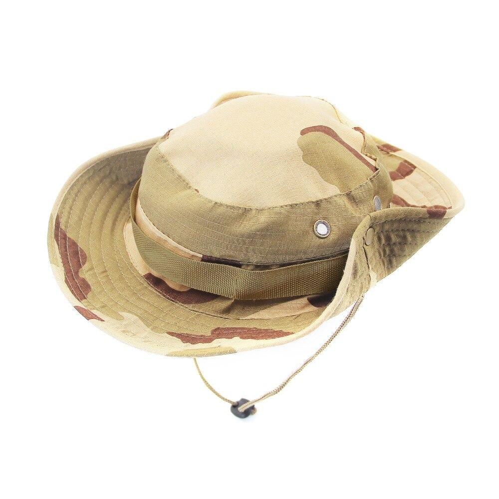 7d5c17bbda8 Summer Beach Packable Breathable Sun Hat Wide Brim Soft Camouflage Men  Women Mesh Fishing Hunting Hiking Breezer Hat  MHB007-008