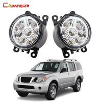 1 Pair Car Styling LED Light Fog Lamp Daytime Running Light DRL 12V High Power For