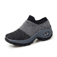 Big Size 35-42 Women Flying Platfrom Shoes Damping Fitness S
