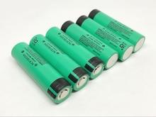 8pcs/lot New Original Battery For Panasonic NCR18650A 3100mah 18650 3.7V Rechargeable Lithium Flashlight Torch Batteries