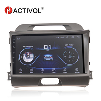 HACTIVOL Android 8.1 car dvd for KIA sportage 3 4 2010 2011 2012 2013 2014 2015 car gps navigation 2 din car multimedia player