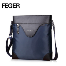 FEGER New Arrival Business Casual Versatile Wrapping Edge Nylon Shoulder Bag for Man Free Shipping