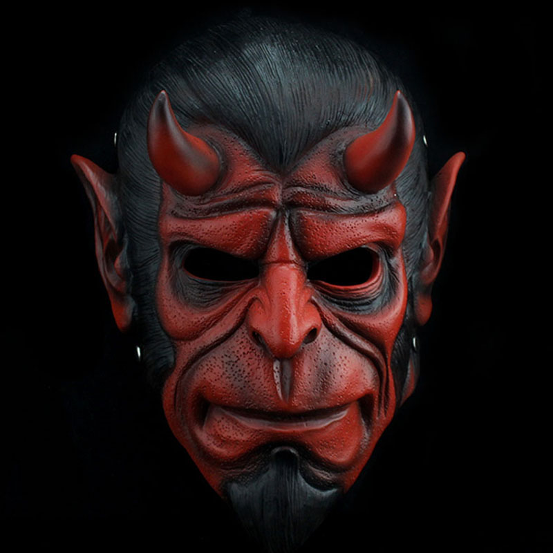 Hellboy Cosplay Mask Halloween Helmets for kids Carnival party masks