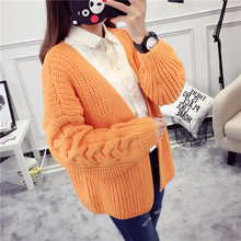 Autumn New Woman Open Stitch Fashion Loose Knitted Top Warm Casual Sweaters for