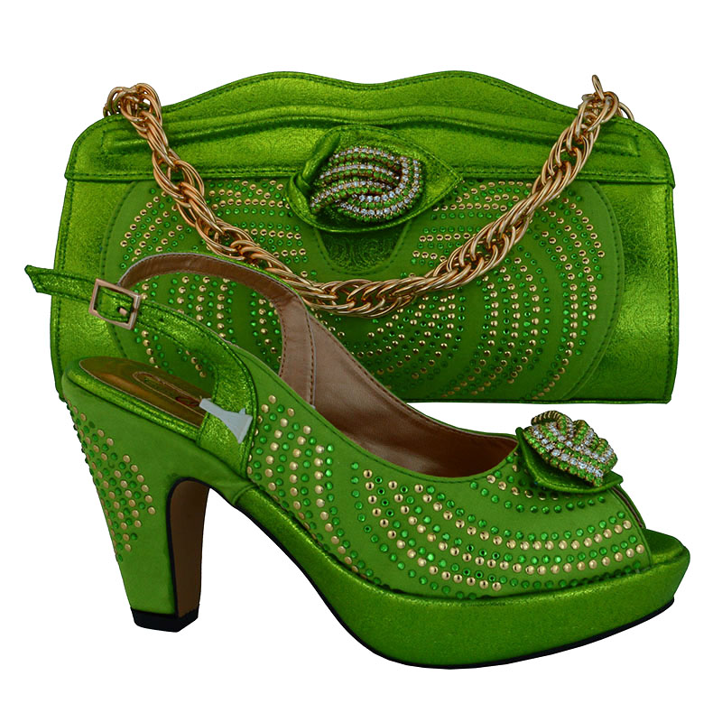 ФОТО 2016 italian shoes and bag matching set for big wedding wholesale rainbow evening bag with matching shoes !MVB1-6