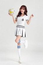 Girls Football Cheerleaders Costumes