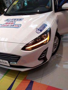 Image 4 - 2 stücke Auto Styling für Ford Focus Scheinwerfer 2019 jahr Focus LED Scheinwerfer DRL Kopf Lampe Engel Bi Xenon Strahl zubehör