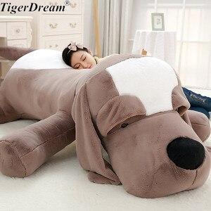 Śliczne duże ucho pluszowy pies miękka pluszowa poduszka wypchane zwierzęta pluszowa poduszka pies poduszka na sofę pluszowe urodziny zabawki prezentowe lalki dla psa