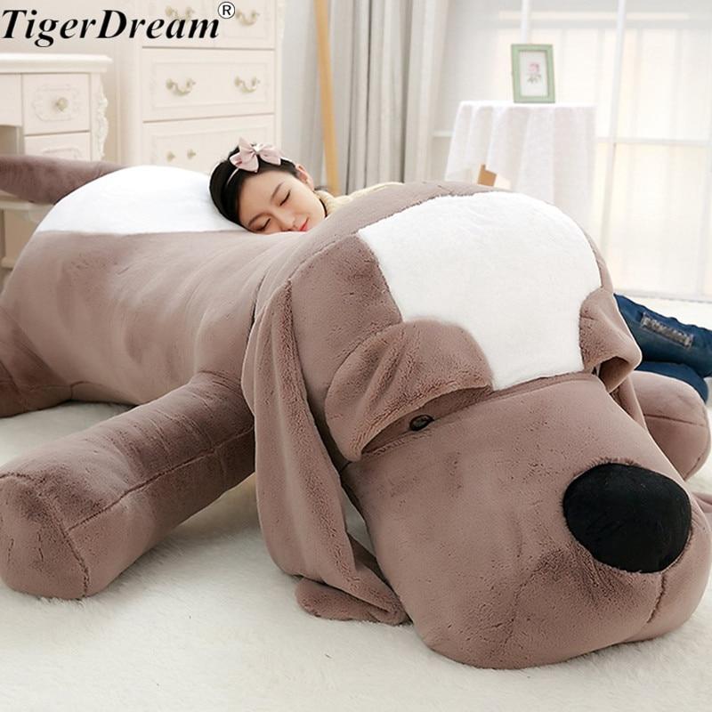 Cute Big Ear Plush Toy Dog Soft Plush Pillow Stuffed Animals Plush Pillow Dog Sofa Cushion Plush Birthday Gift Toys Dog Dolls
