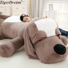 Cute Big Ear Plush Toy Dog Soft Plush Pillow Stuffed Animals Plush Pillow Dog Sofa Cushion Plush Birthday Gift Toys Dog Dolls