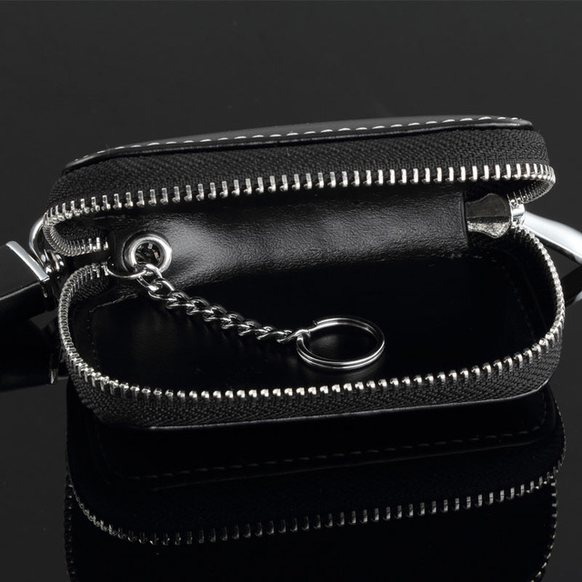Leather Keychain Bag With Lexus Logo