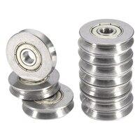10 rolamentos de esferas selados metal do sulco vgroove dos pces v625zz v 5x22x5mm profundamente 1.5mm bearing bearing bearing v bearing 10pcs -