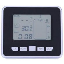 خزان لاسلكي بالموجات فوق الصوتية ، مستوى السائل ، تدفق المياه ، أداة قياس مع مسامير التثبيت ، جهاز إرسال درجة الحرارة