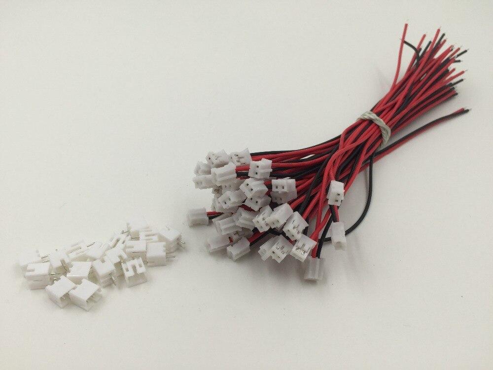 5 SÄTZE Mini Micro JST 2,0 PH 2 pin anschluss stecker mit Drähte ...