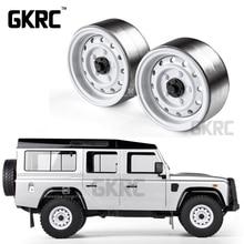古典的な 4 個のための金属 1.9 インチのホイールハブリムビードロック 1/10 RC クローラ車 TRX4 ディフェンダーブロンコ RC4WD D90 d110 軸 SCX10 90046