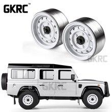 קלאסי 4pcs מתכת 1.9 אינץ גלגל שפת רכזת Beadlock עבור 1/10 RC Crawler רכב TRX4 Defender ברונקו RC4WD D90 d110 צירי SCX10 90046