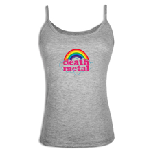 iDzn Summer sexy Women's Camisoles Death Metal Music Heavy Unicorn Rainbow Lady Sleeveless vest Camis Girl's Tanks Sling Tops