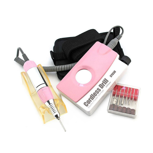 30000RPM Portable Electric Nail Manicure Machine Milling Cutter ...
