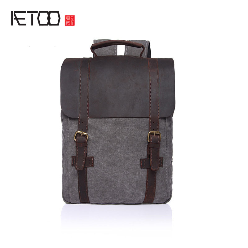 AETOO Korean high school students bag school wind wind shoulder bag women fresh arts summer fashion tide package students factors contributing to indiscipline among high school students