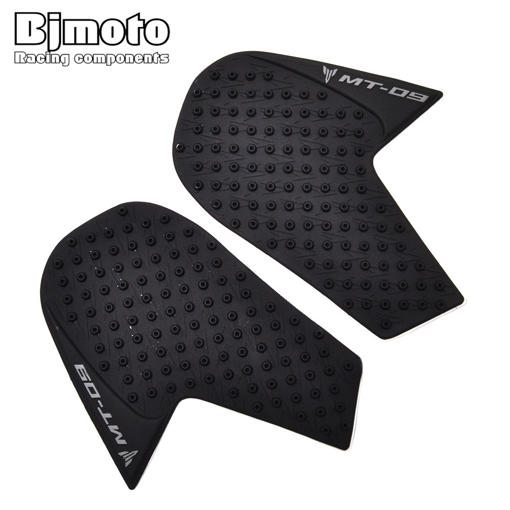 Motorcycle Accessories & Parts Tpp01-mt09/15-bk Black Motorcycle Anti Slip Tank Sticker Knee Grip Protective Pad For Yamaha Mt-09 2014-2017 Frames & Fittings