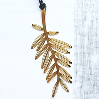 Home Creative Party Favor Wedding Decoration Christmas Snowflake Gold Palm Leaf Feather Bookmark Baby Shower Party