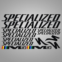 1 Set Stationery Stickers Sticker Set For MTB DH Cycling Decals DIY Frame Stickers Vinyl Die