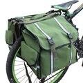Новые 3 в 1 сумки для багажника Горная дорога велосипед Велоспорт двухсторонняя задняя стойка хвост седельная корзина пакет багаж Перевозчи...