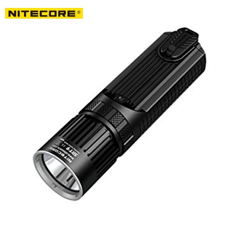 NITECORE SRT9 Flashlight 2150 Lumen CREE XHP50 5colors LED for Gear Hunting Law Enforcement Military Dimming Tactical Flashlight nitecore srt9 2150 lumens with red blue warning light cree xhp50 led gear hunting law enforcement military flashlight lantern