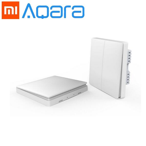 2018 Xiaomi Smart home Aqara Smart Light Control ZiGBee Wireless Key and Wall Switch Via Smarphone APP Remote By Xiaomi цена и фото