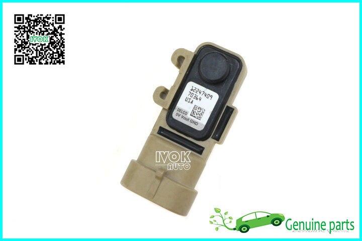 Genuine OEM Fuel Tank Pressure Sensor For Cadillac Escalade Chevrolet Impala Monte Carlo Silverado Tahoe 12247409