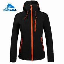 Spring Woman Trekking Camping Hiking Outdoor Sport Softshell Jacket Women Fleece Liner Hoodie Jaqueta Feminina Windbreaker Coat