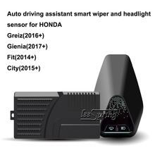 Auto driving assistant smart wiper and headlight sensor for HONDA City Fit