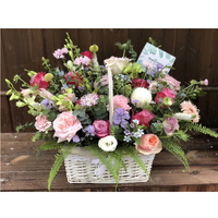 Decorative flower Fruit bread basket Handmade wicker baskets Free delivery in selected cities
