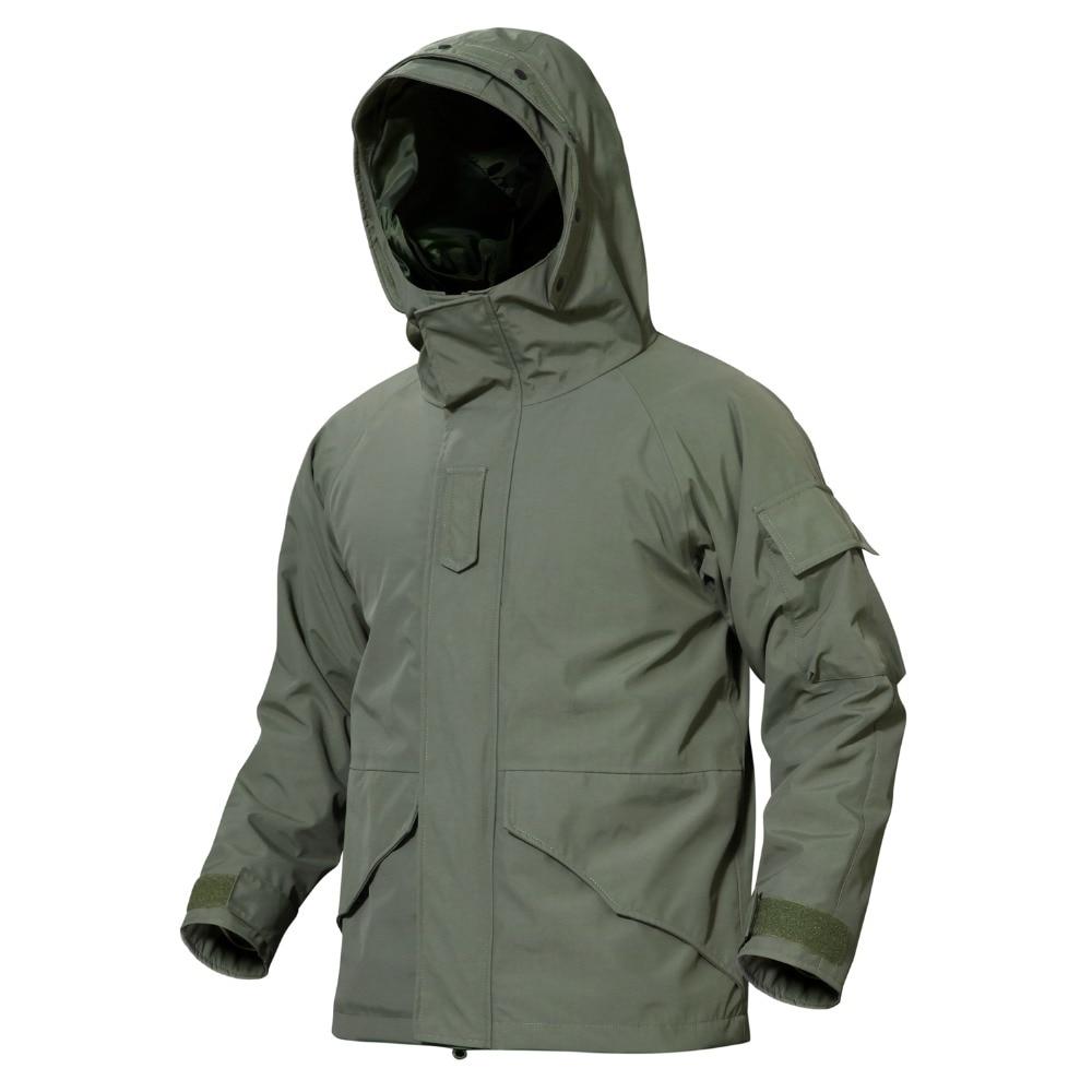 Tactica G8 Double Layer Pressure Glue 3 in 1 Coats Waterproof Jacket Liner Winter Climbing Combat
