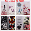 For Lenovo A6000 Case,Luxury Crystal Diamond 3D Hard Plastic Cover Case For Lenovo A6000 K3 Cover K30T A6000+ K 3 A 6000 6010