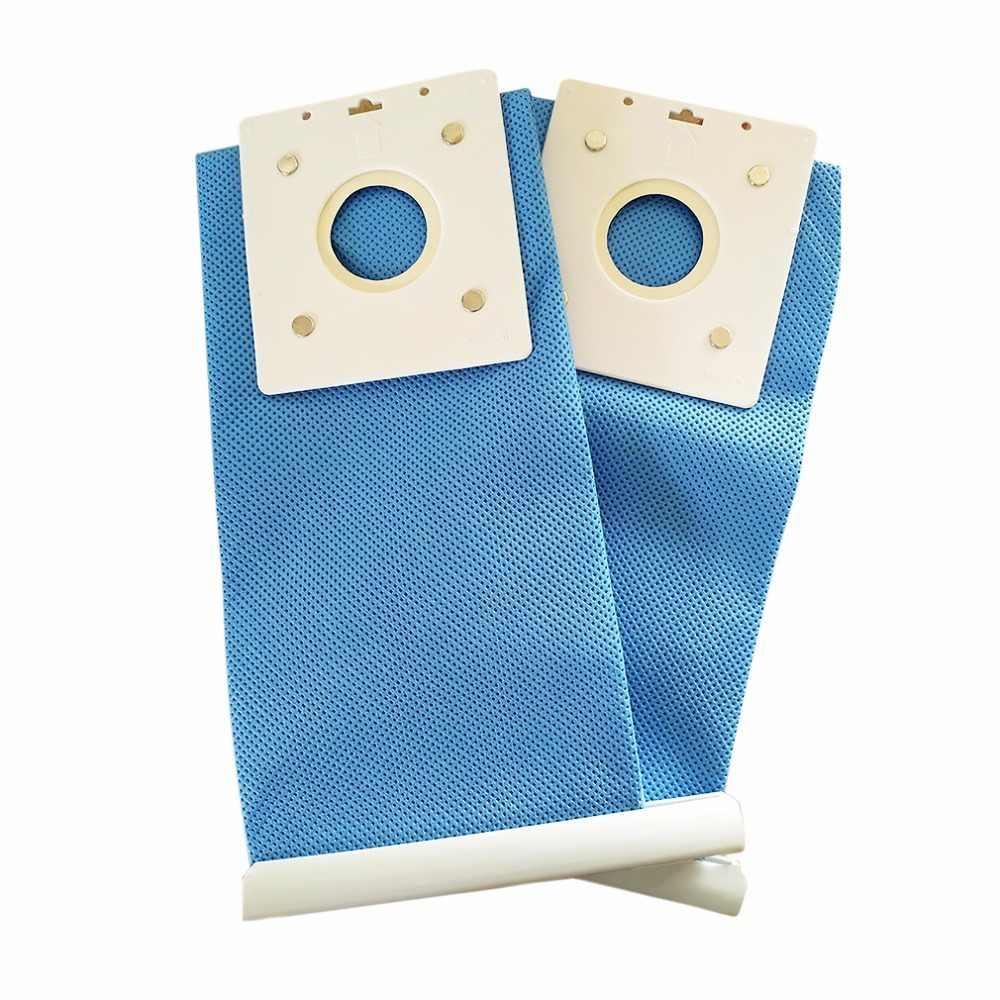1 Pcs Kualitas Tinggi Vacuum Cleaner Bagian Cuci Tas Biru Penggantian Bagian Kain Non-woven Kantong debu dengan Samsung DJ69-00420B